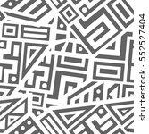 unique geometric vector... | Shutterstock .eps vector #552527404