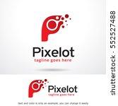 letter p logo template design... | Shutterstock .eps vector #552527488