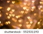 Heart Bokeh Background  Love...