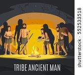 Ancient Prehistoric Stone Age...