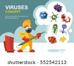 Anti Germs  Microbes Vector...