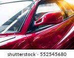 detail shot of old fancy car.   Shutterstock . vector #552545680