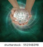 lucky lottery numbers 1 to 59   ... | Shutterstock . vector #552548398