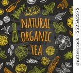 Natural Organic Tea. Spices An...