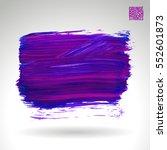 brush stroke and texture....   Shutterstock .eps vector #552601873