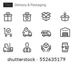 delivery  shipping  shopping... | Shutterstock .eps vector #552635179