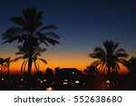 night view in the old city.... | Shutterstock . vector #552638680