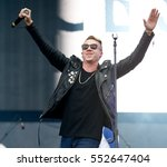 las vegas sep 20  rapper... | Shutterstock . vector #552647404