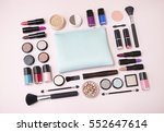 a selection of cosmetic beauty... | Shutterstock . vector #552647614