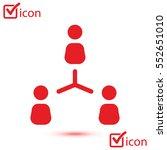 communication concept. social... | Shutterstock .eps vector #552651010