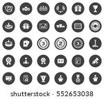 winner icons | Shutterstock .eps vector #552653038