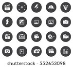 photography icons | Shutterstock .eps vector #552653098