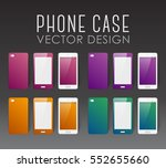 set of covers and backgrounds... | Shutterstock .eps vector #552655660