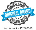 original brand. stamp. sticker. ... | Shutterstock .eps vector #552688900