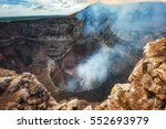 masaya volcano national park in ... | Shutterstock . vector #552693979