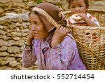 beni  nepal   circa may 2012 ... | Shutterstock . vector #552714454