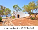 church agios georgios... | Shutterstock . vector #552714544