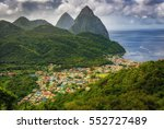 Soufri  Re In Saint Lucia With...