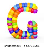 3d render letter g made with...   Shutterstock . vector #552738658