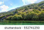 lake ohrid  national park... | Shutterstock . vector #552741250