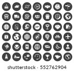 shipping icons | Shutterstock .eps vector #552762904