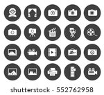 photography icons | Shutterstock .eps vector #552762958