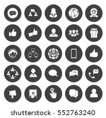 social icons | Shutterstock .eps vector #552763240