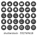 book icons | Shutterstock .eps vector #552769618