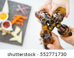 close up of unrecognizable... | Shutterstock . vector #552771730