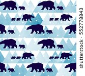 cute seamless pattern with... | Shutterstock .eps vector #552778843