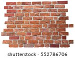 Background Of Red Brick Wall ...