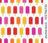 ice cream vector illustration... | Shutterstock .eps vector #552786730