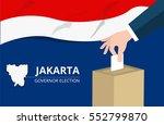 jakarta governor election | Shutterstock .eps vector #552799870