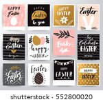 easter illustration | Shutterstock .eps vector #552800020