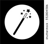 magic wand icon | Shutterstock .eps vector #552804586
