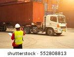 foreman control loading... | Shutterstock . vector #552808813