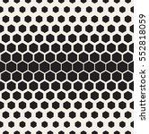 vector seamless pattern. modern ... | Shutterstock .eps vector #552818059
