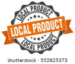 local product. stamp. sticker.... | Shutterstock .eps vector #552825373