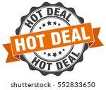 hot deal. stamp. sticker. seal. ...   Shutterstock .eps vector #552833650