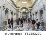 vatican city   december 28 ... | Shutterstock . vector #552853270