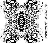 retro pattern design | Shutterstock .eps vector #552862270