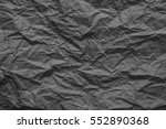 crumpled paper texture ... | Shutterstock . vector #552890368