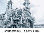 industrial zone the equipment... | Shutterstock . vector #552911488