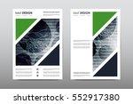 brochure layout template flyer... | Shutterstock .eps vector #552917380