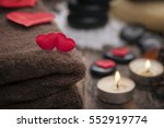 wellness decoration  valentine... | Shutterstock . vector #552919774