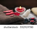 wellness decoration  valentine... | Shutterstock . vector #552919780
