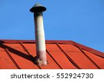 Asbestos Smoked Chimney With A...