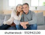 portrait of senior couple...   Shutterstock . vector #552942130