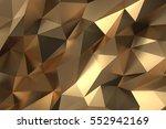elegant luxury abstract golden...   Shutterstock . vector #552942169