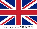 vector uk flag | Shutterstock .eps vector #552942826